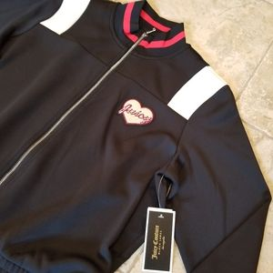 Juicy Couture Shorts - NEW JUICY COUTURE BLACK LABEL ROMPER JUMPER TRACK